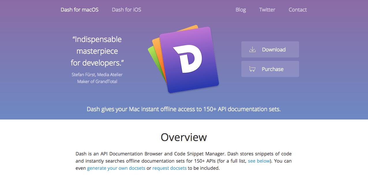 Dash トップページ