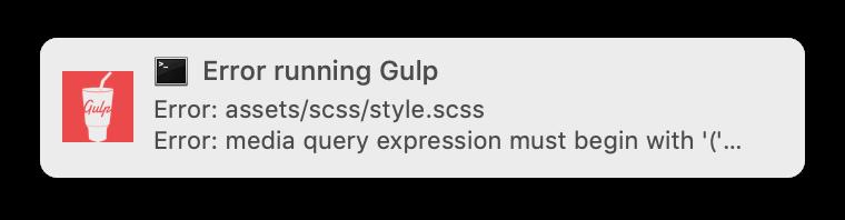 gulpでデスクトップ通知