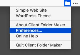 Client Folder Maker[Preferences...]