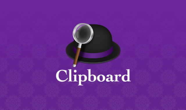 Alfred Clipboard History