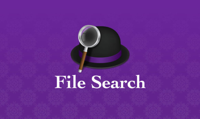 Alfred 4のFile Search機能