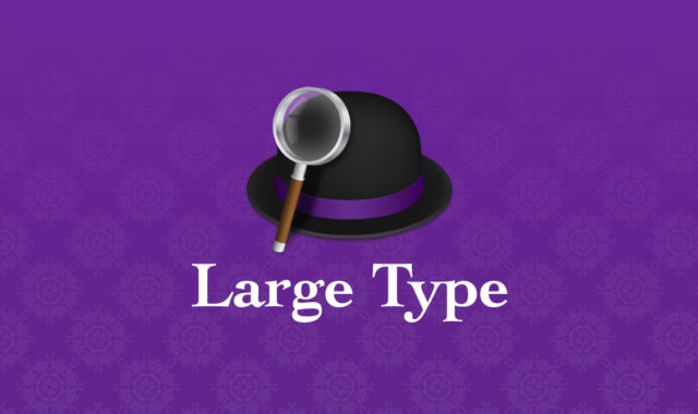 Alfred Large Type