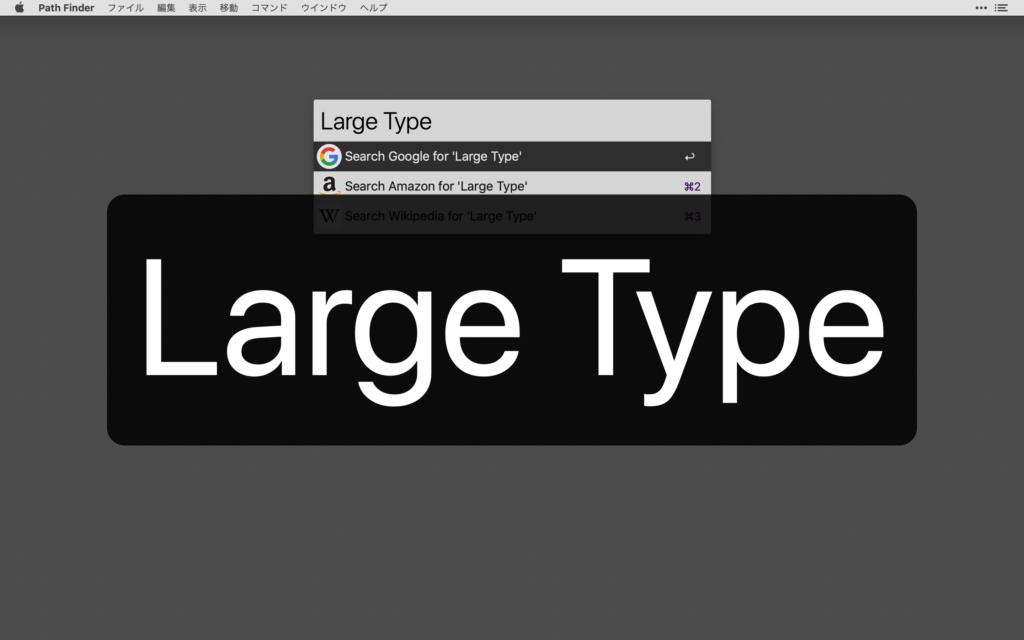 Large Type