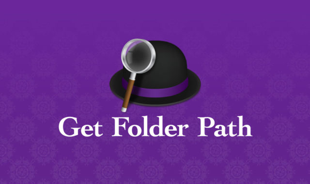 Alfred Workflowで、AppleScriptを使ってFinderとPath Finderの現在開いているパスを取得する方法