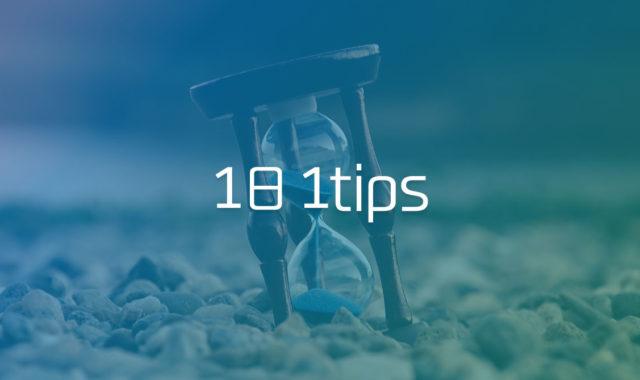 日々の制作をラクにするTips #1日1Tips – 2019年11月