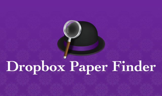 AlfredでDropbox Paperの検索ができるWorkflow「Dropbox Paper Finder」