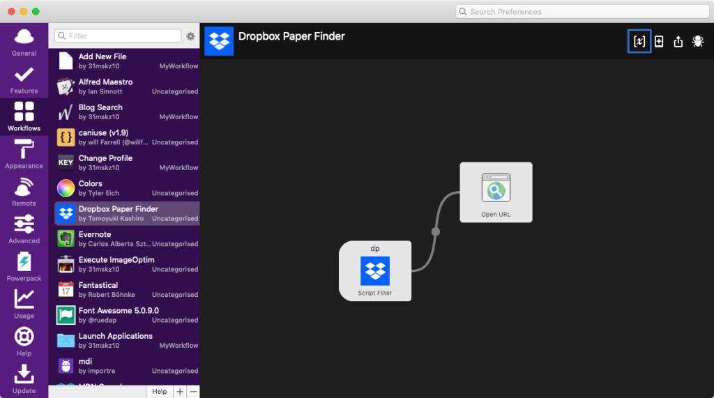 Dropbox Paper Finder