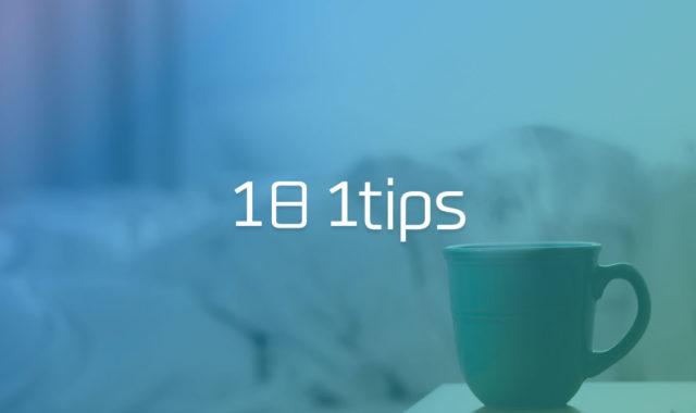 日々の作業を短縮して、やるべきことに集中するための小技集 #1日1Tips – 2020年1月