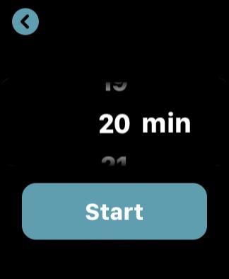 Insight Timerの時間選択