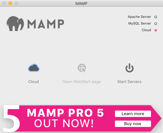 MAMP 無料版