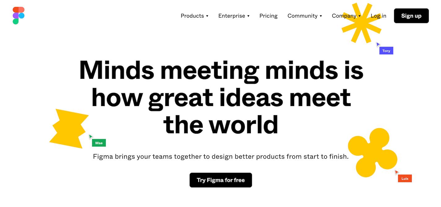 Figmaの公式サイト